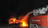 Şırnak'ta Basın Aracı Kundaklandı