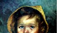 'Ağlayan Çocuk'  Tablosu Lanetli mi?