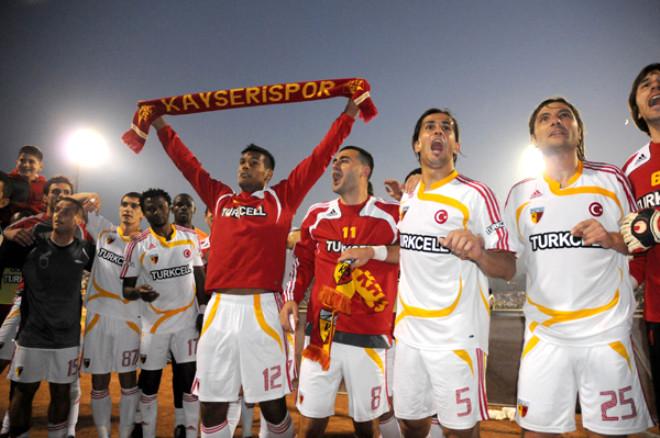 Kayseri 1 - 0 Beşiktaş