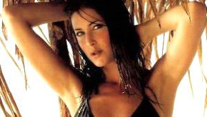 George Clooney'nin eski sevgilisi Lisa Snowdon