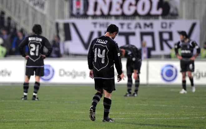 Beşiktaş 1 - 3 Ankaraspor