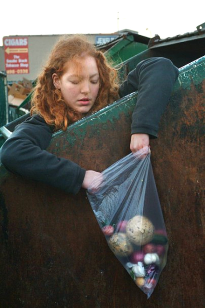 Çöpten Beslenen New Yorklular