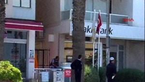 Kuşadası'nda Silahlı Banka Soygunu