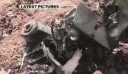 İran'da Uçak Düştü- İşte İlk Görüntüler