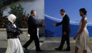 Erdoğan Çifti Obama'nın Resepsiyonunda