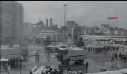 Taksim'de IMF Protestosu