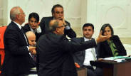 Meclis'te Pankartlı Eylem