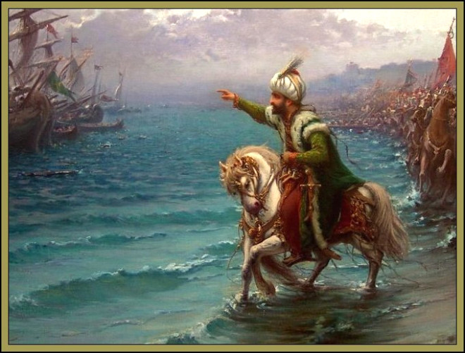 557 Yıl Sonra Fatih At Üstünde