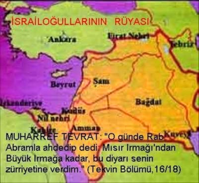 İsrail'in Kanlı Tarihi