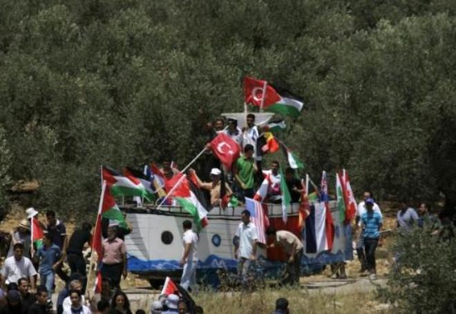İsrail Askerleri Görünce Şok Oldu