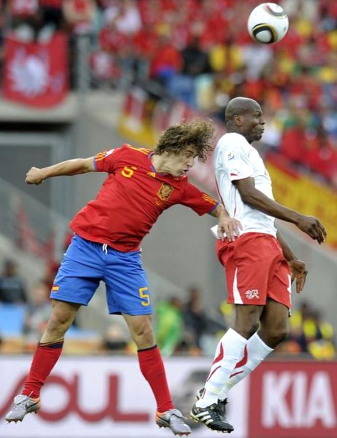 İspanya 0- İsviçre 1
