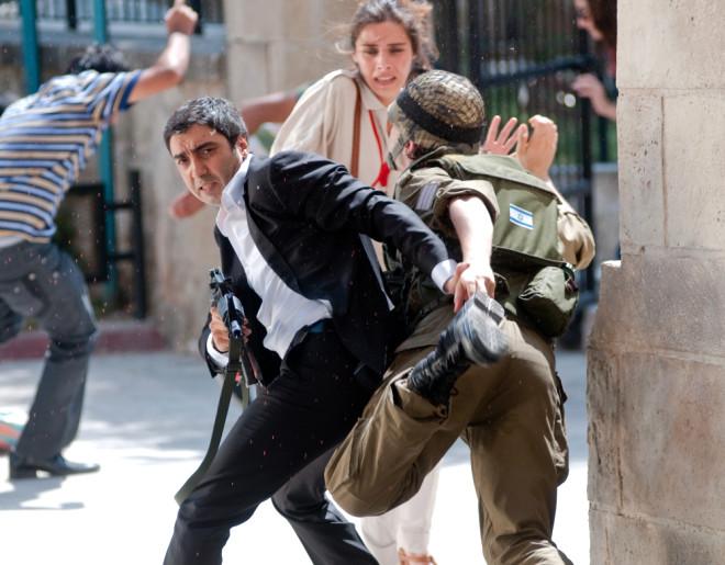 Kurtlar Vadisi Filistin'den İlk Kareler
