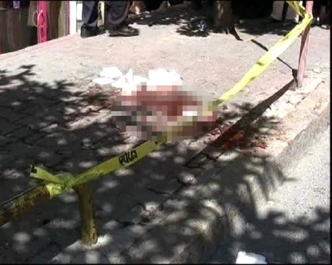Cihangir'de Bıçaklı Kadın Dehşeti
