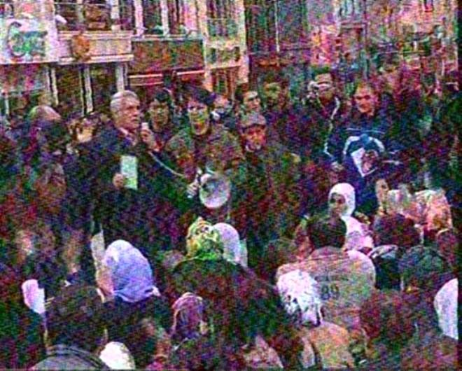 PKK Yandaşlarından Taksim'de Eylem