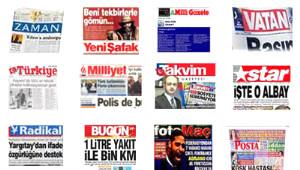 Gazetelerden Referandum Manşetleri
