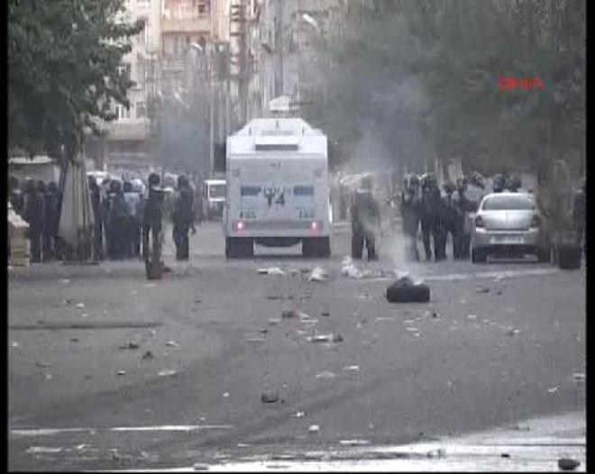Diyarbakır'da Olaylı Protesto