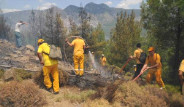 Fethiye'de Orman Yangını Çıktı