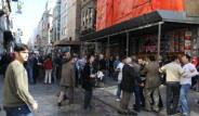 ÖDP'lilerle Trabzonspor Taraftarları Birbirine Girdi