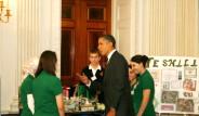 Türk Öğrenciler Beyaz Saray'da