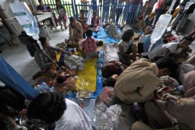 Endonezya'da Büyük Felaket