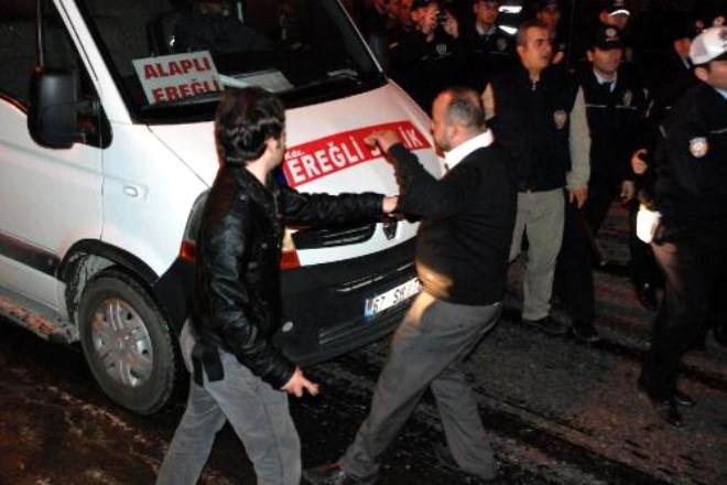 Zonguldak'ta Ortalık Karıştı