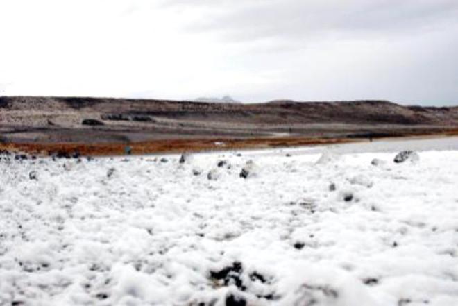 Meke Gölü, Kirlilikten Köpürmeye Başladı