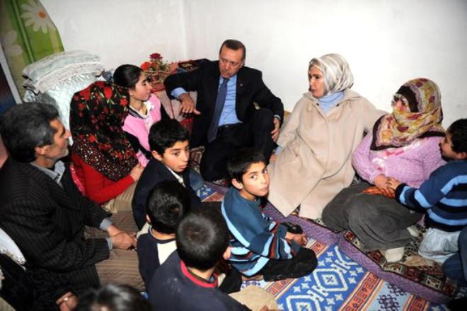 11 Çocuklu Aileye Ziyaret