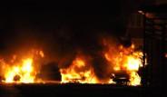 Pendik'te 6 Araç Yakıldı