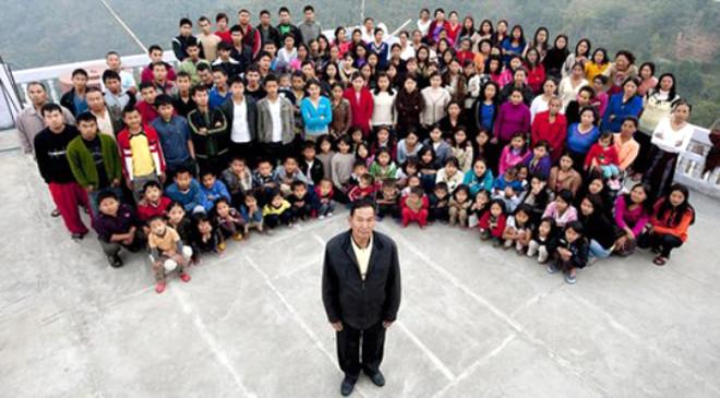İşte Dünyanın En Geniş Ailesi