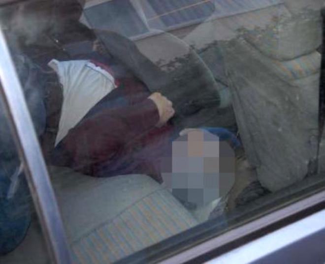 Otomobilde Poşetli İnfaz