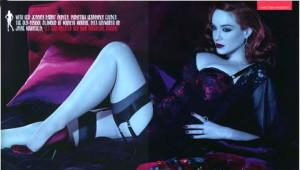 Christina Hendricks Model Oldu
