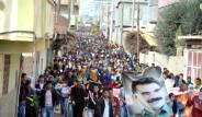 PKK'lı Cenazesinde Olay Çıktı