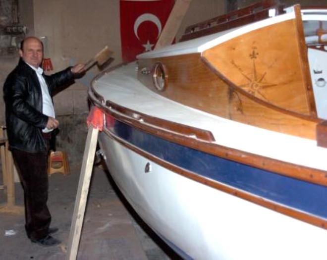 Erzurum'da Yaptı, Trabzon'da Yüzdürecek