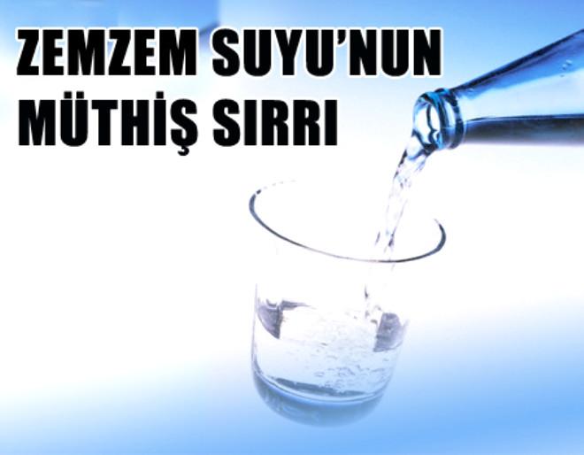 Zemzem Suyunun Müthiş Sırrı