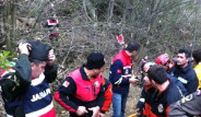 Bursa'da Helikopter Düştü