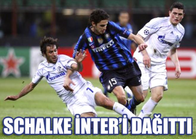 Schalke İnter'i Perişan Etti