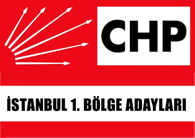 Cumhuriyet Halk Parti'si İstanbul 1. Bölge Adayları