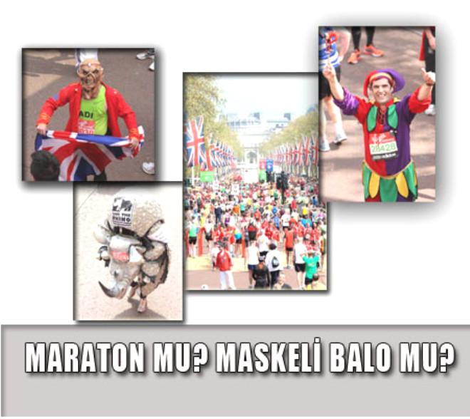 Maraton Değil Sanki Maskeli Balo