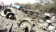 Hindistan'da Korkutan Kaza