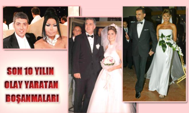 Son 10 Yılın Olay Yaratan Boşanmaları