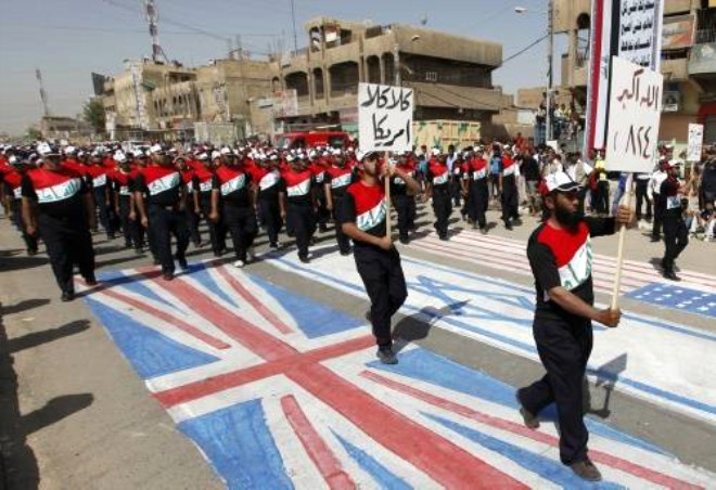 Irak'ta Şok Protesto