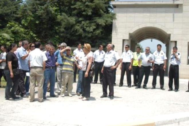 Mersin Üniversitesi'nde Gerginlik