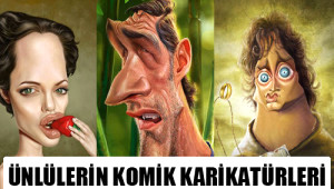 Ünlülerin Komik Karikatürleri