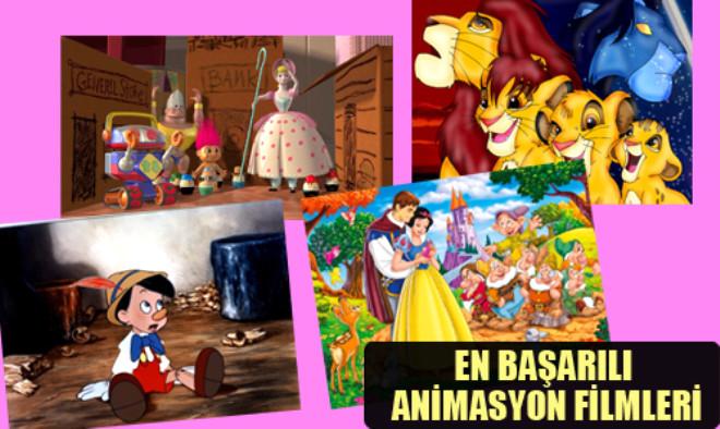En Başarılı Animasyon Filmleri