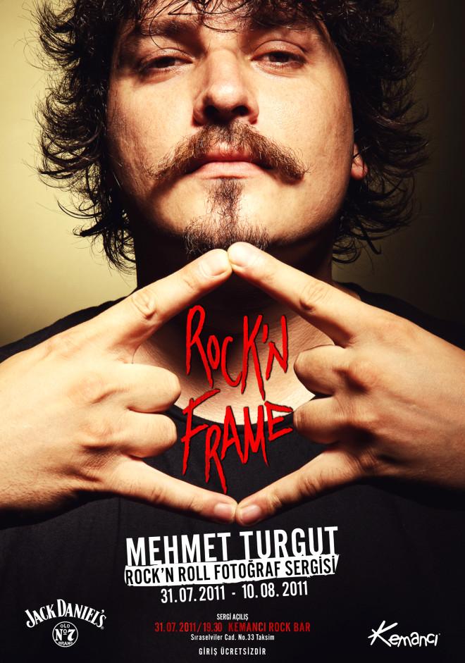 Mehmet Turgut'tan Rock'n Frame Sergisi
