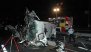 Polis Minibüsü Takla Attı