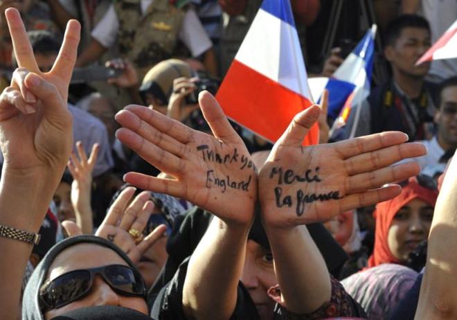 Sarkozy ve Cameron'a Tahrir Şoku