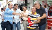 BDP Eyleminde Türk Bayraklı Protesto