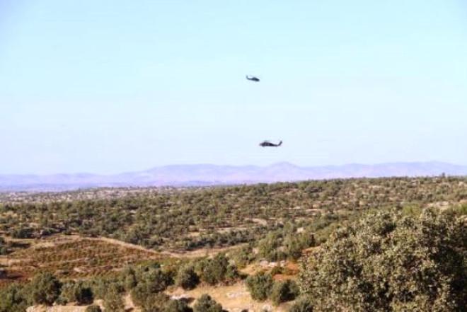 Mardin'de Askeri Helikopter Düştü