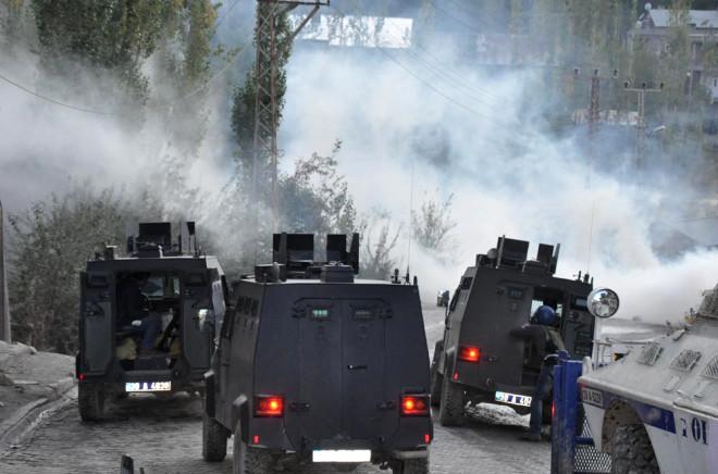 Hakkari'de Sokaklar Savaş Yeri